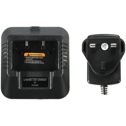 Baofeng UV-5R+ - Replacement Cradle and PSU