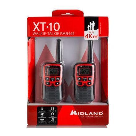 Midland XT10 PMR-446 twin pack
