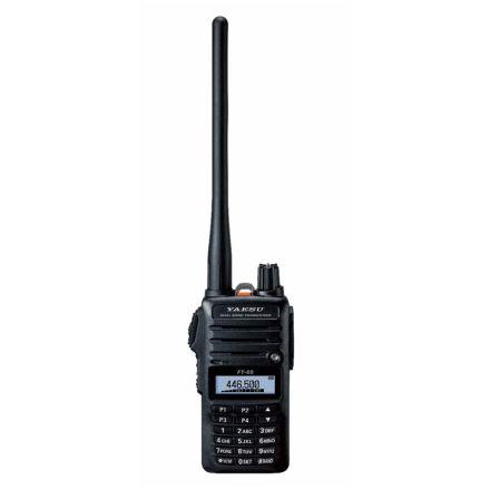 Yaesu FT-65E VHF/UHF 2m/70cm Dual Band FM Handheld