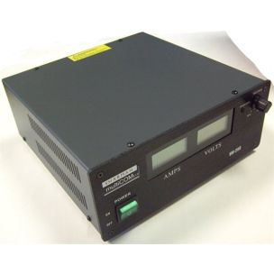B GRADE SHARMAN SM25-D SWITCH MODE POWER SUPPLY 25A, LCD V/A METER
